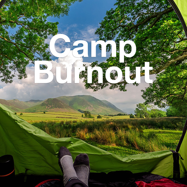 E-learning voice-over Camp Burnout