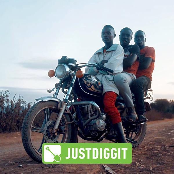 Regreening Africa, Justdiggit, voice-over