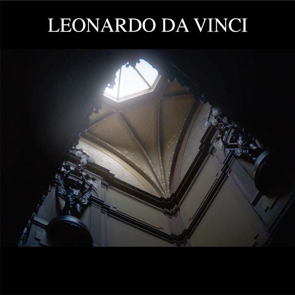 Voice-over Leonardo da Vinci art exhibit internet advertisement